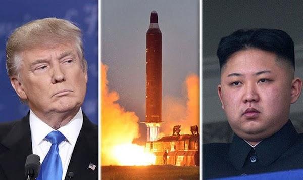 """Reino Unido afirma que Norcorea atacará a EU y Trump responde: """"Estamos preparados""""."""