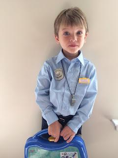 DIY Police Costume