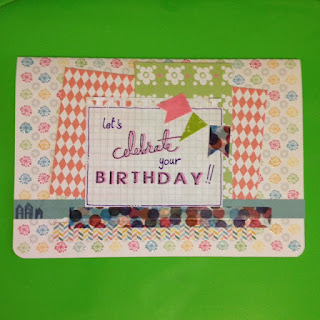 card birthday scrapbooking