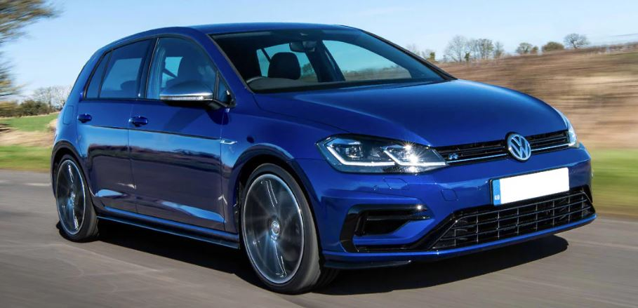 vw golf weight 2020