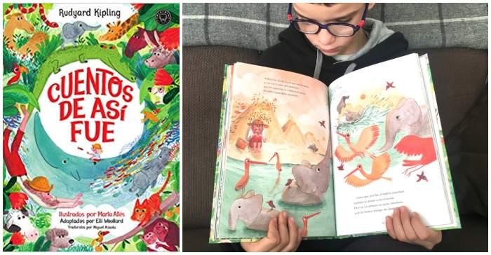 mejores cuentos libros infantiles de 5 a 8 años Cuentos de así fue rudyard kipling