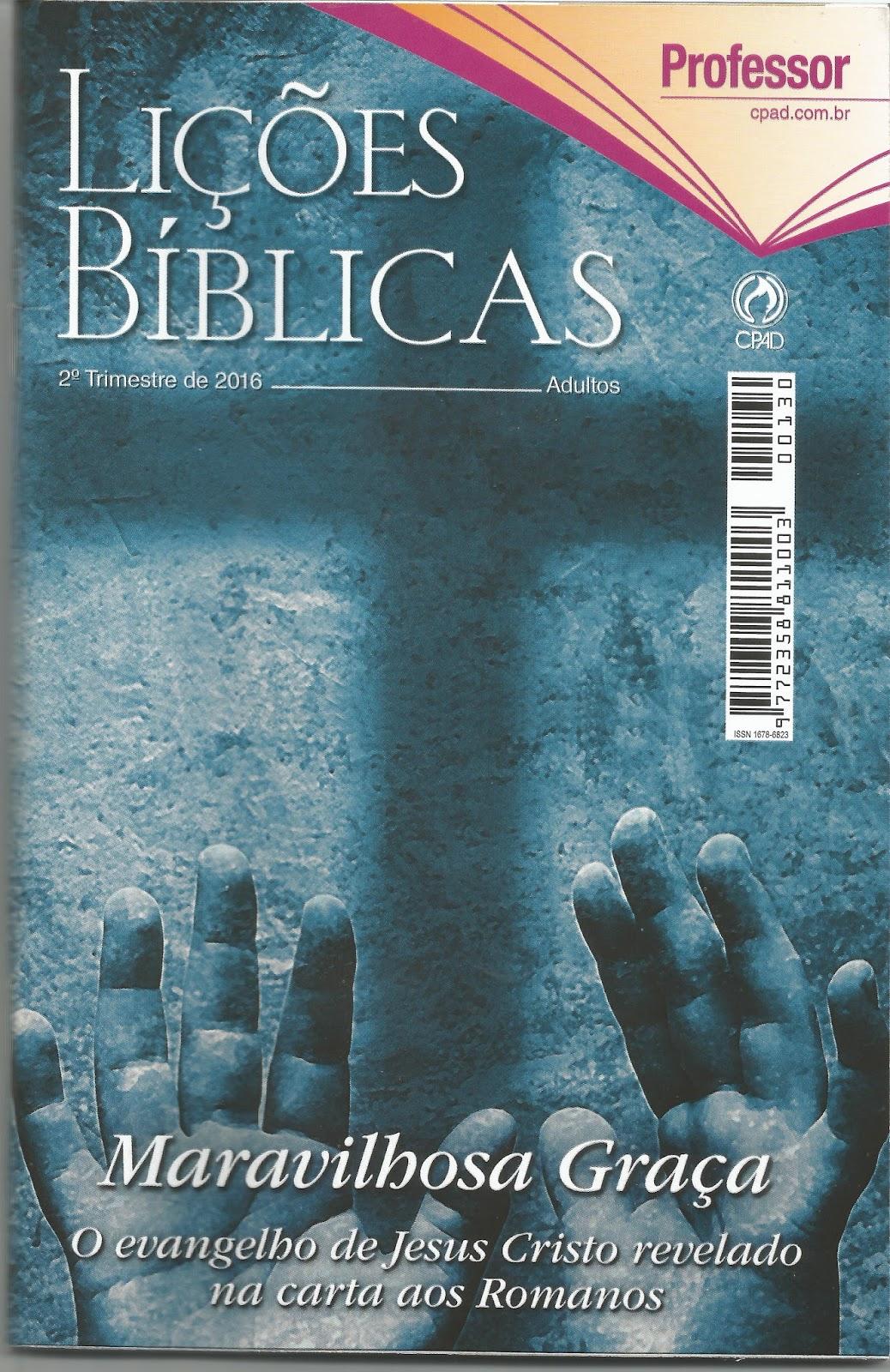 revista da escola dominical cpad