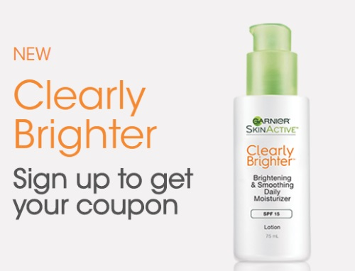 Garnier SkinActive Clearly Brighter Coupon