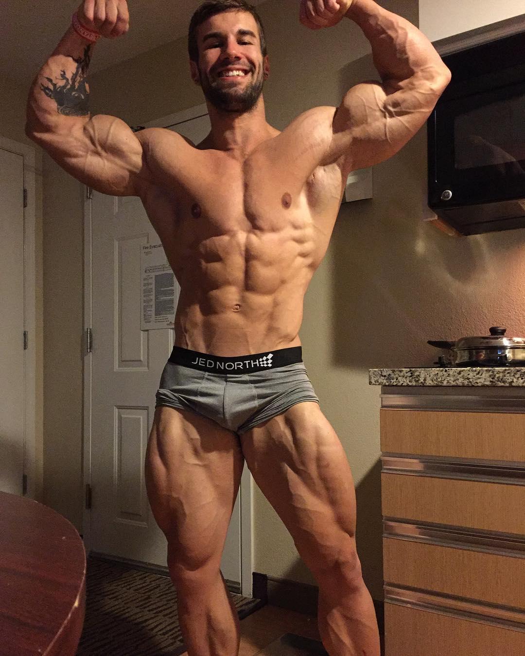BUILD BODY WORKS: Fitness Model Jake Burton