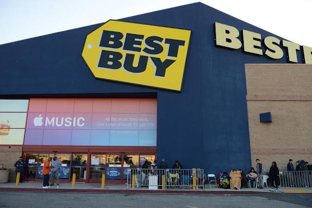Loja Best Buy em Los Angeles e na Califórnia