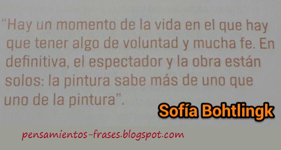 frases de Sofía Bohtlingk