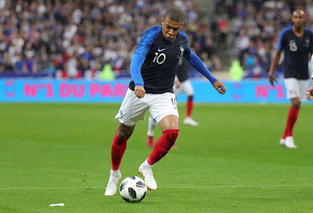 mbappe in France team
