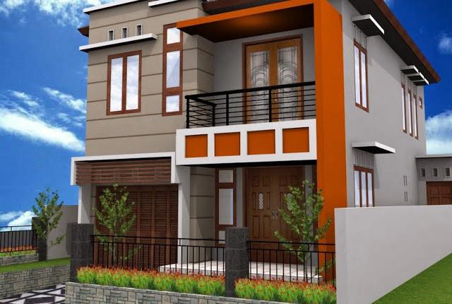 Desain Rumah Minimalis 2 Lantai Yang Simple Tapi Lengkap