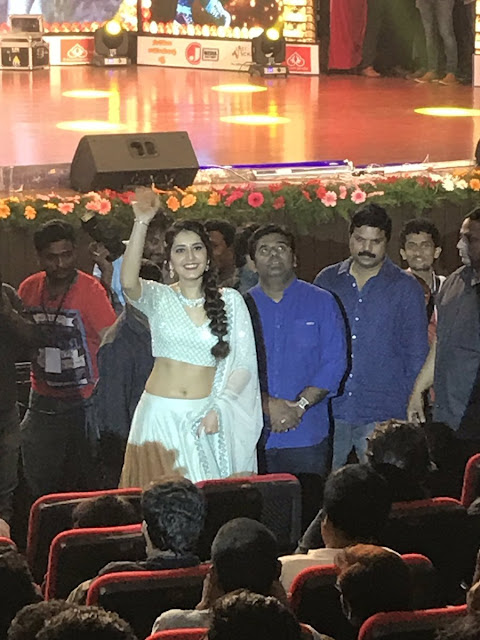 Raashi Khanna at Jai Lava Kusa Trailer Launch