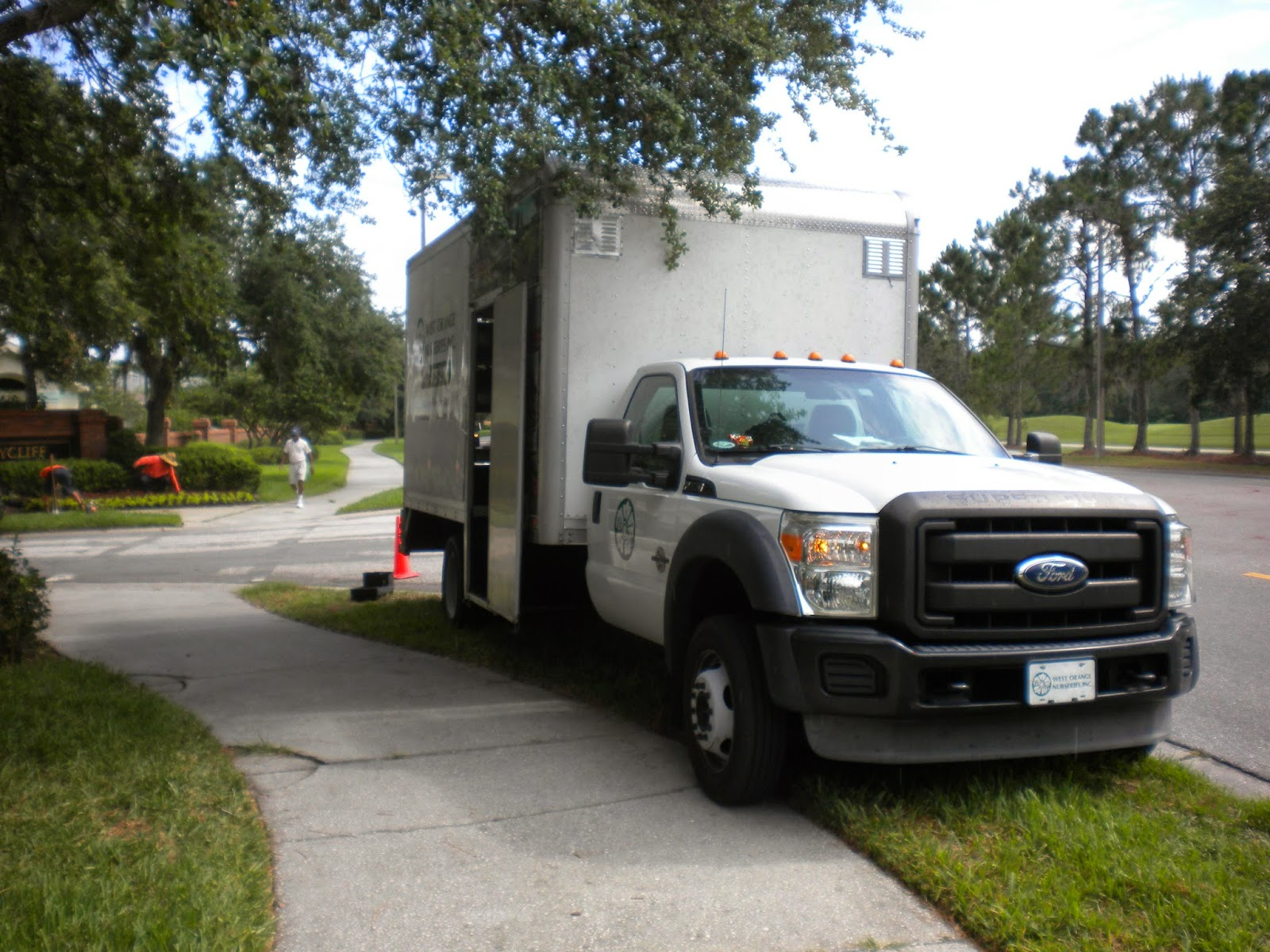 Commercial Truck Success Blog: Special Landscaping Truck