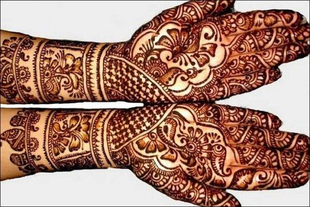180+ Best Rajasthani Bridal Mehndi Designs for Full Hands