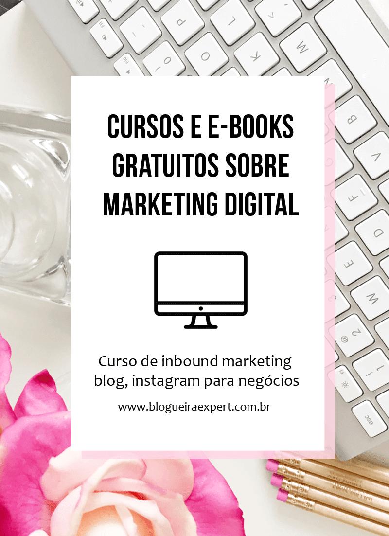 Cursos gratuitos e online sobre marketing digital, negócios e instagram