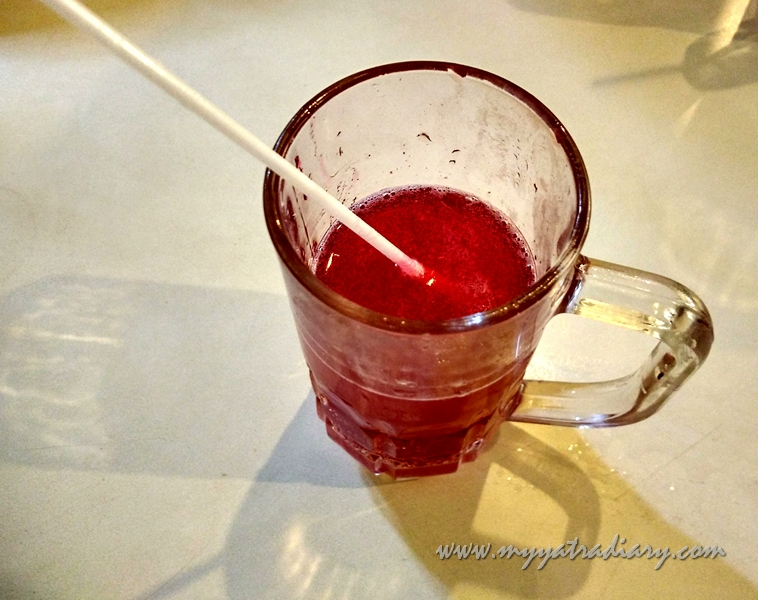 Watermelon juice at Vaishali in Pune
