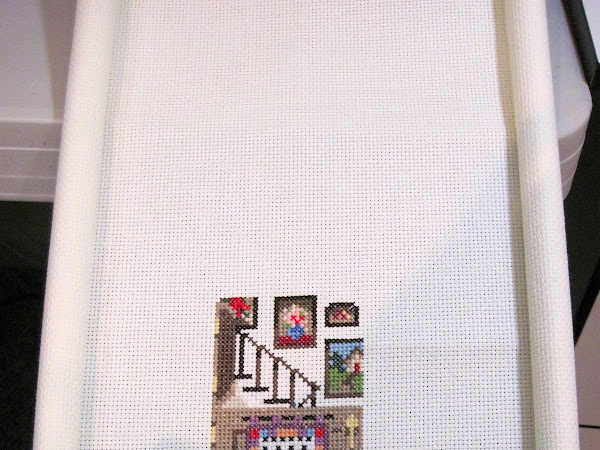 My FunDay Cross-stitch UFO