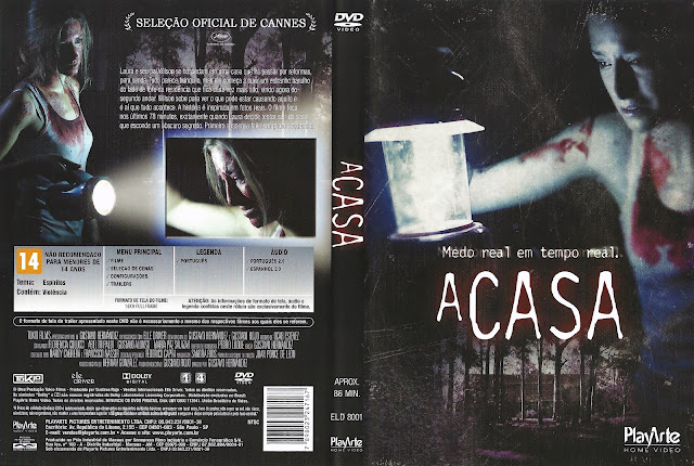 Capa DVD A Casa