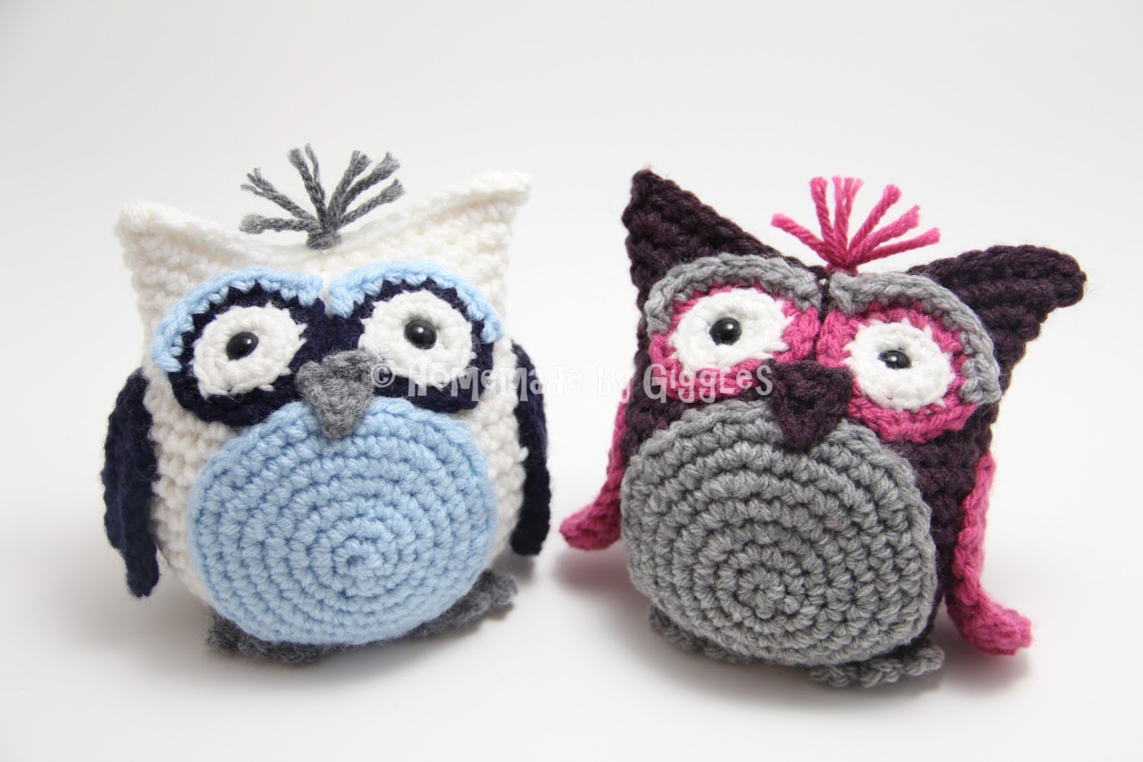 Amigurumi Pattern Free Owl : Homemade by giggles bean bag owl free crochet pattern