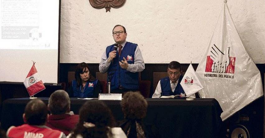 Educación, EsSalud y comuna de Arequipa, los más quejados, según informe de la Defensoría del Pueblo