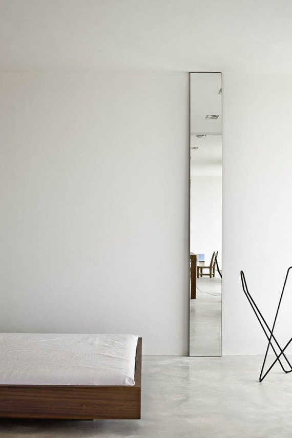 Decor trend: Floor mirrors | Image via Archdaily.