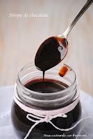 Sirope de chocolate con thermomix