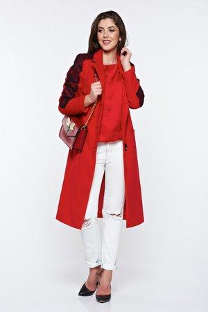 palton roau dama