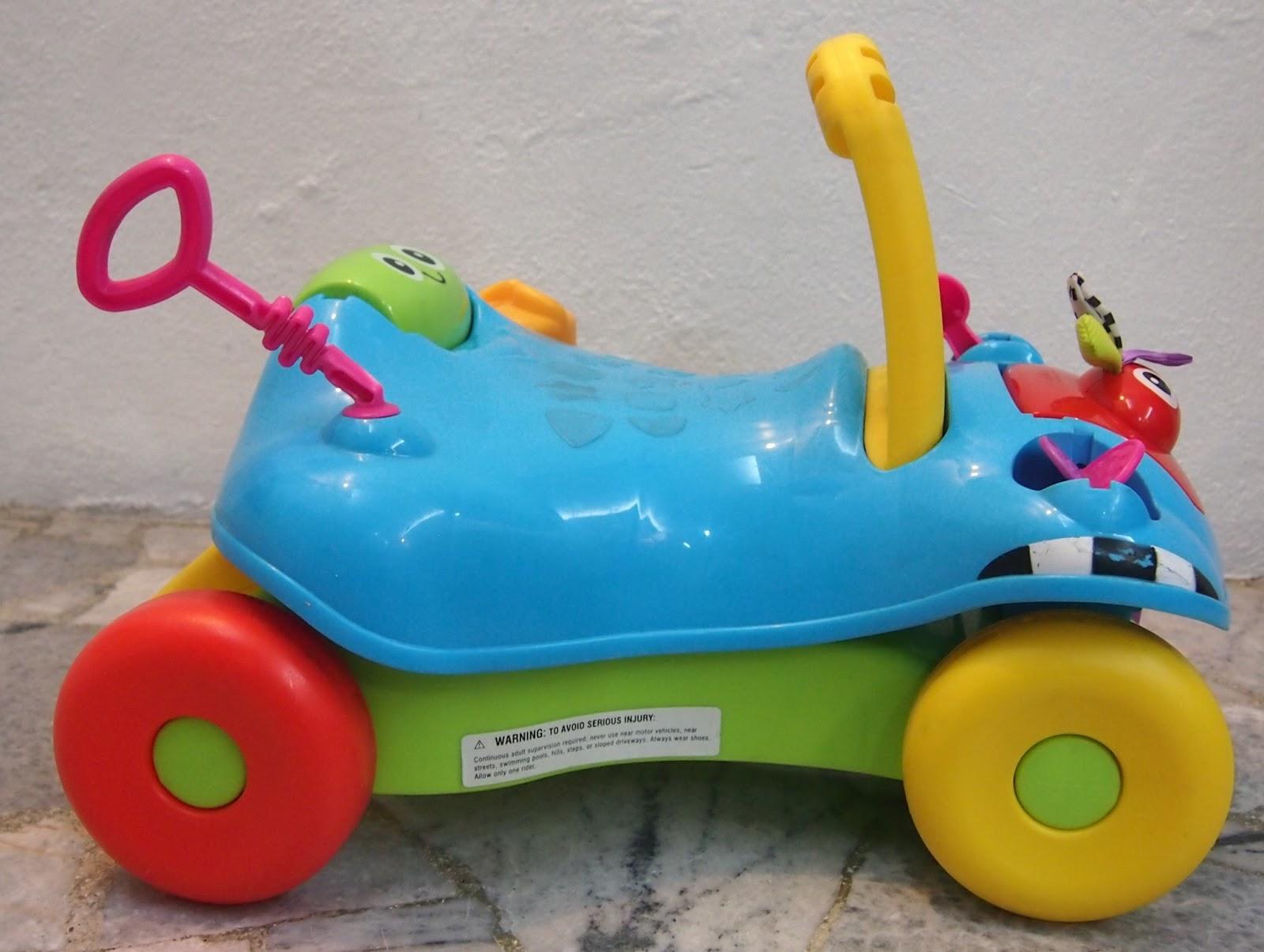 Juaimurah Playskool Step Start Walk N Ride