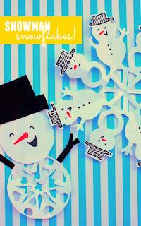 festoni fiocchi di neve fai da te