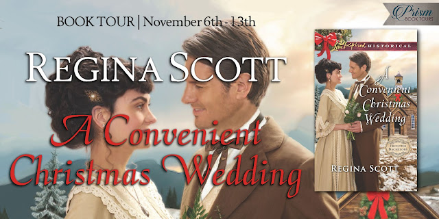 A Convenient Christmas Wedding by Regina Scott – Grand Finale + Giveaway