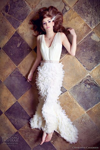 vestidos de novia sencillos para embarazadas