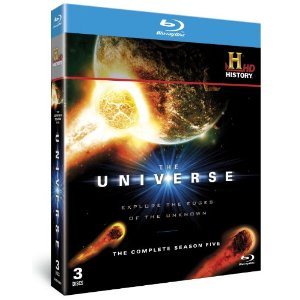 The Universe Season 5 Set of Blu-ray disks