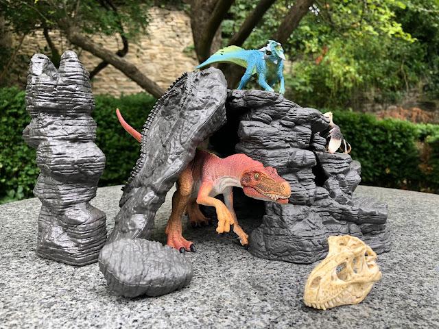 dinosaur minifigures, collectable dinosaurs