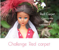robe red carpet barbie