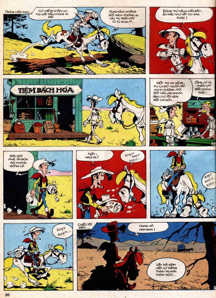 Lucky Luke tap 18 - ki si ao trang trang 28