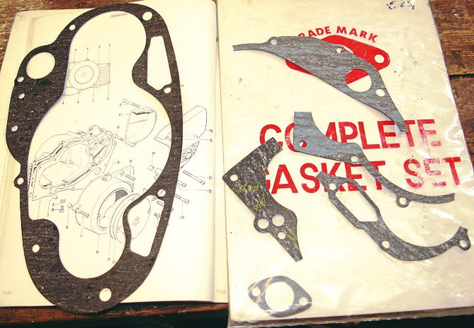 Do it yourself how to make a gasket motorcycle tips these chaps have been making gaskets for old bikes for decades some out of necessity others because its cheaper solutioingenieria Gallery