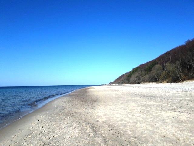 plaża Poddąbie, Poddąbie