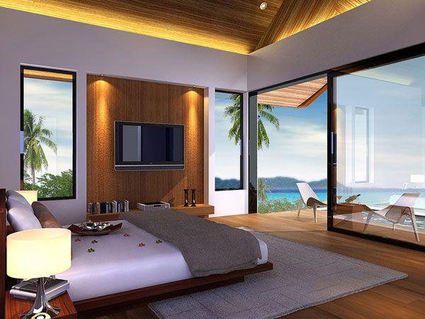 Luxury Bedroom Design: Bedrooms with Beautiful Panoramic ...