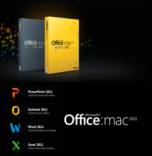 York World: Microsoft Office for Mac 2011 Standard edition