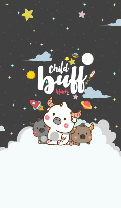 Child Buff Galaxy Black