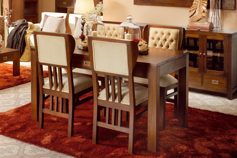 Ideas para decorar el Comedor: 4 ACOGEDORES COMEDORES DE ESTILO COLONIAL