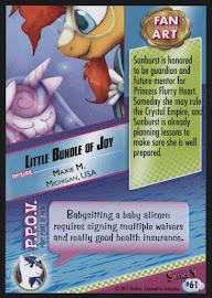 MLP Little Bundle of Joy Series 4 Trading Card