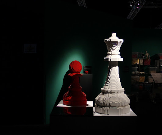 "Arte con Lego ""The Art of the Brick"" 