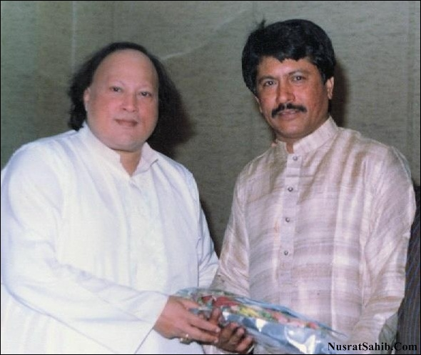 The Legend Nusrat Fateh Ali Khan and Att