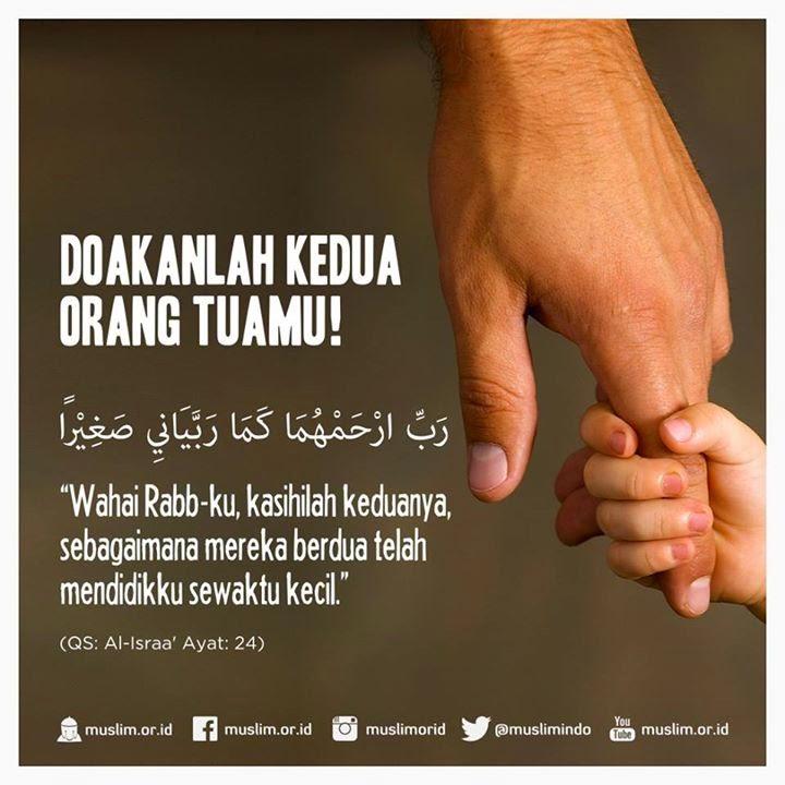 Doa Untuk Kedua Orang Tua Di Dalam Al Quran Kata Kata Bijak Islami