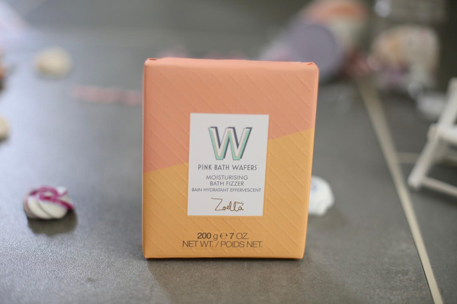 zoella moisturising bath fizzer