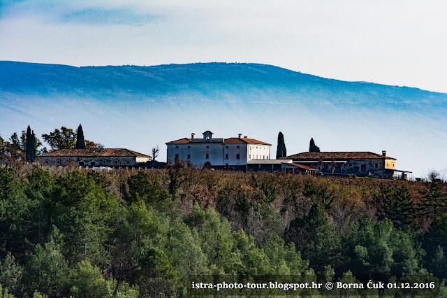 Ladanjski dvorac Barbo u Belaju @ izlet po Istri 01.12.2016