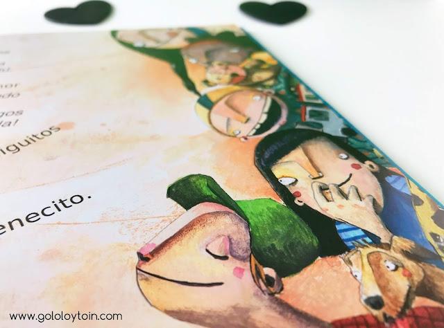 ilustraciones álbum infantil Chitquitina