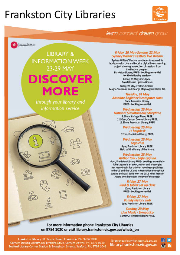 What's On @ Frankston City Libraries