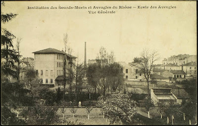 Post card view of the Hugentobler Institute