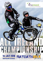 belfast city bmx club at 2018 all ireland championships ratoath bmx club