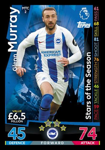 141452e9d Football Cartophilic Info Exchange  Topps - Match Attax Extra 2018 19 (12)  - MTC1-MTC15 - Stars of the Season
