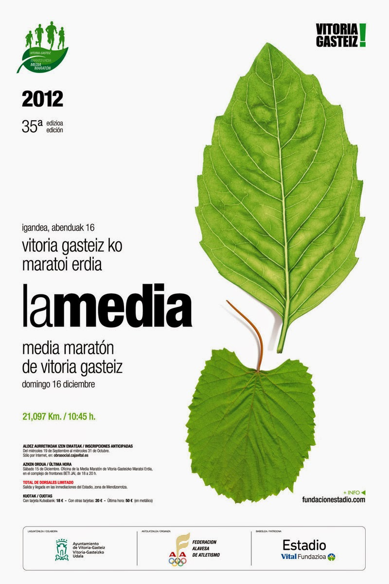 Cartel de La Media de Vitoria 2012